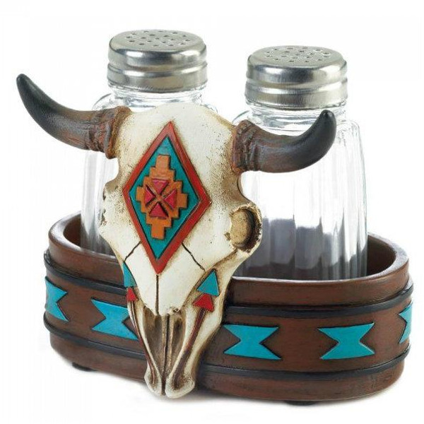 Bull Skull Shaker Set 10018691 By Zingz & Thingz