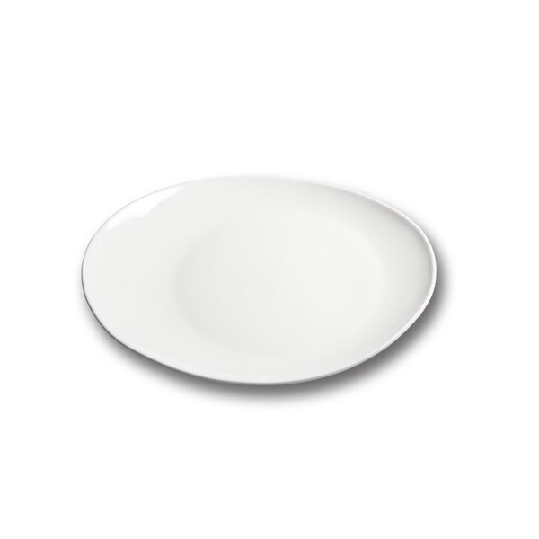 10 Strawberry Street Pond Oval Plates- Pack Of 24 B4515 Street