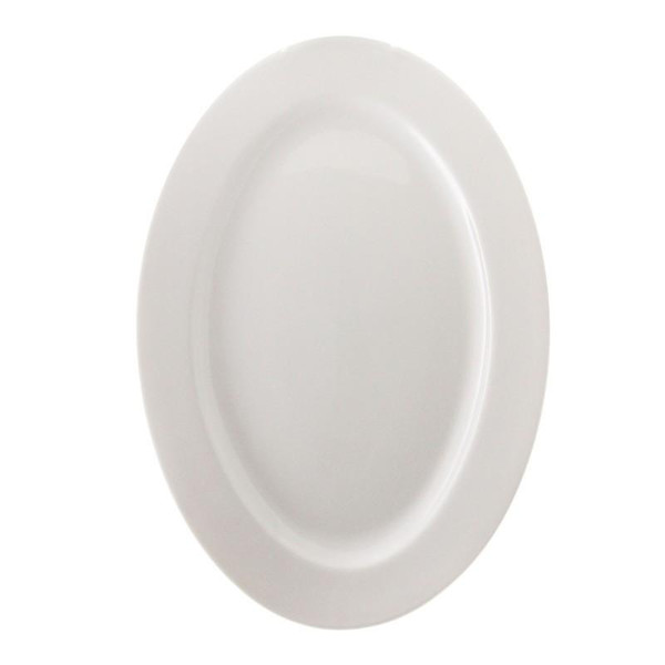 "10 Strawberry Street Bistro 14"" Oval Platter- Pack Of 12 BISTRO-22 Street"