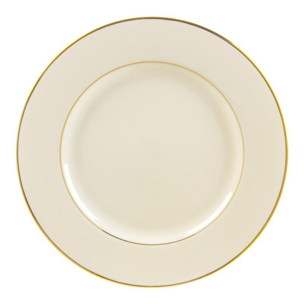 """10 Strawberry Street Cream Double Gold 12.25"""" Charger Plates- Pack Of 12 CGLD0024"""