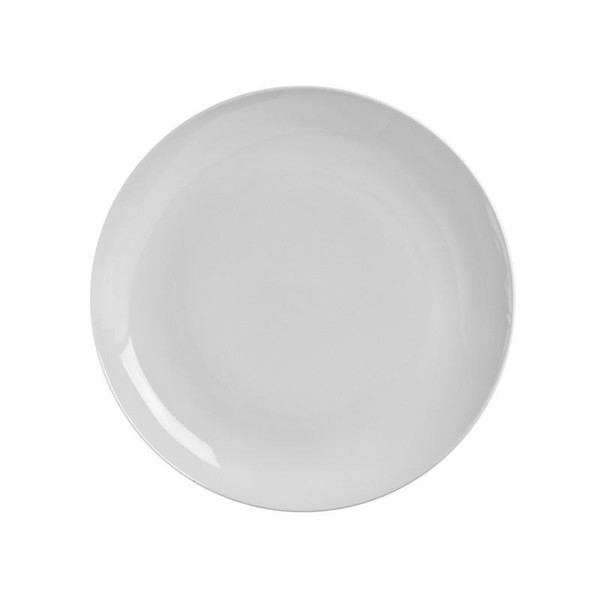 """10 Strawberry Street Classic Coupe 8.75"""" Luncheon Plates- Pack Of 24 CP0002"""