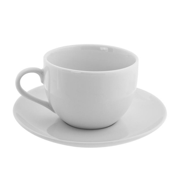 10 Strawberry Street Classic Coupe 8-Ounces Coupe Cup/Saucer- Pack Of 24 CP0009