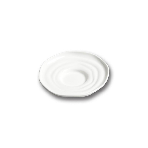 "10 Strawberry Street Ripples 5.5"" Saucer- Pack Of 48 P4315 Street"