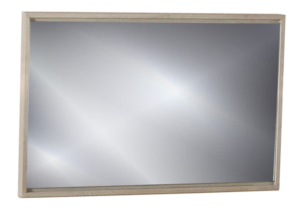 VGLBHAMIMI100-MIR Modrest Samson - Contemporary Grey Mirror By VIG