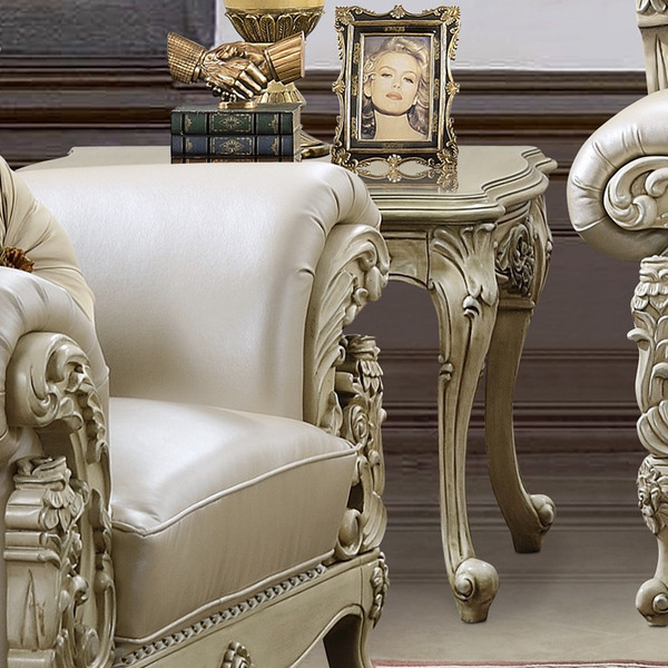 Homey Design Victorian End Table HD-32-END TABLE