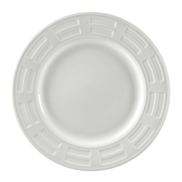 """10 Strawberry Street Sorrento 12"""" Charger Plates- Pack Of 12 SORR0024"""