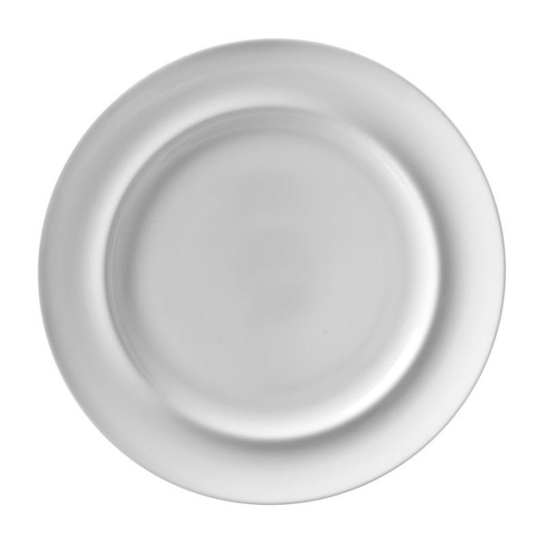 "10 Strawberry Street Taverno 11.25"" Dinner Plates- Pack Of 24 TAV-1 Street"