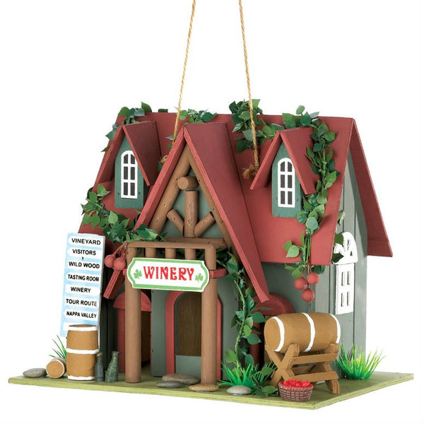 Cottage Winery Birdhouse - 10015391