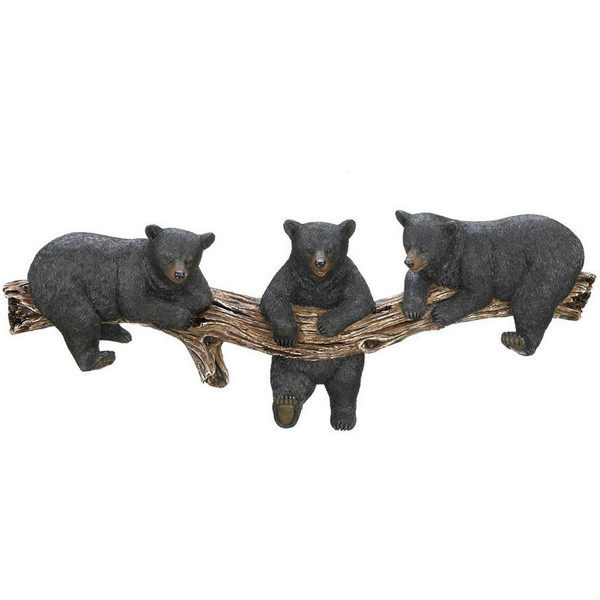 Black Bear Key Hook Decor - 10016200