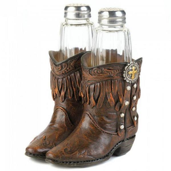 Cowboy Boots Salt & Pepper Set 10017553