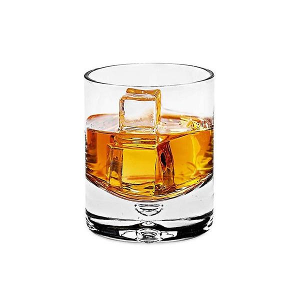 Homeroots 4 Pc Set Old Fashioned Lead Free Crystal Scotch Glass - 12 Oz 375903