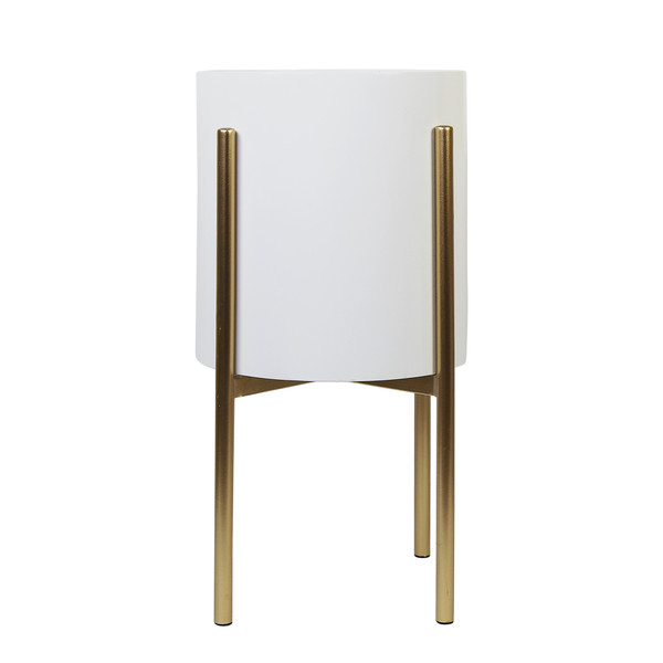 Homeroots Metal Plant Stand 376657
