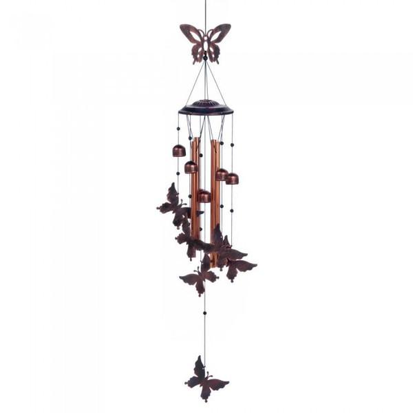 Fluttering Butterflies Metal Wind Chimes 10018222