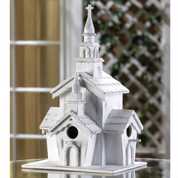 Country Chapel Bird House - 14778