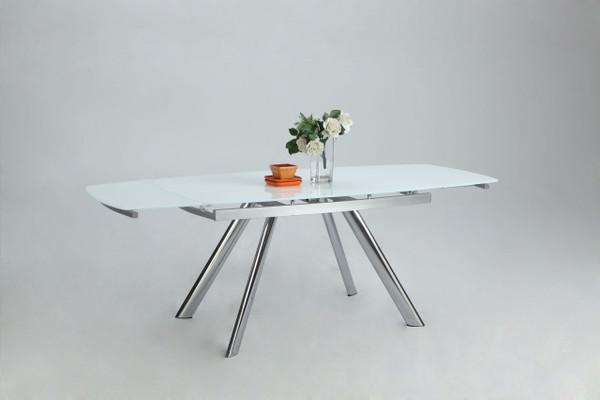 Alina Dining Table - Starphire Glass ALINA-DT