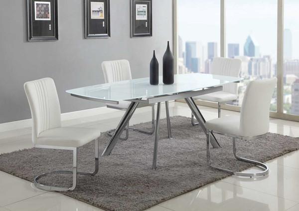 Alina 5 Piece Dining Set (Table + 4 Chairs) ALINA-5PC