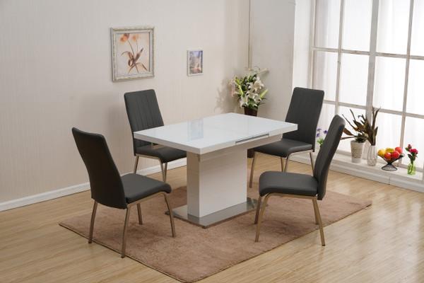 Vanessa-5 Piece Dining Set (Table + 4 Chairs) VANESSA-5PC