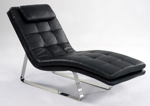 Corvette Lounge Black 2 Piece CORVETTE-LNG-BLK-2PC