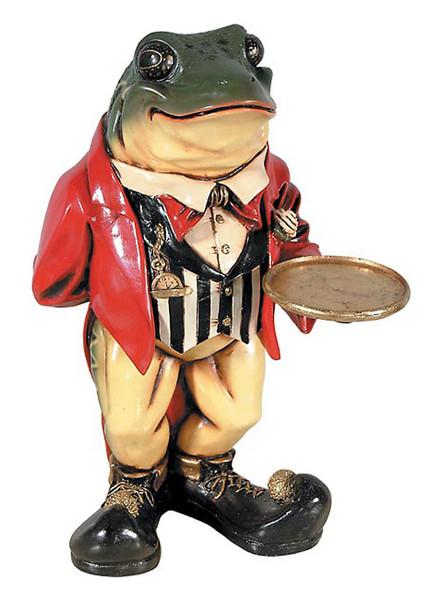 AFD Home Frog Butler Statue 10286372