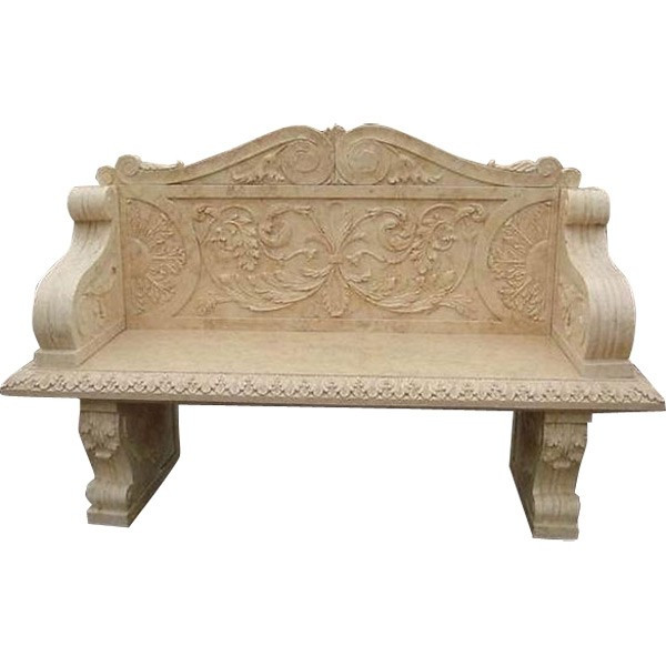 AFD Home Marble Bench Special Gold Travertine 10656492