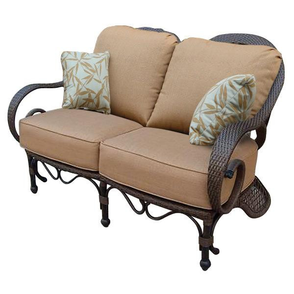AFD Home Grand Bonaire Weave Loveseat 10864865