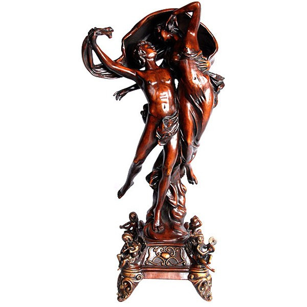 AFD Home Walnut Flight Of Druvius Sculptures 10867880