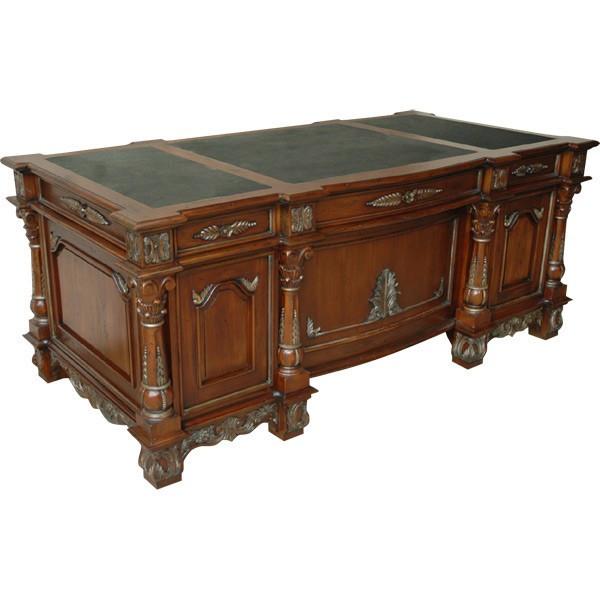 AFD Home Monarch Mahogny Executive Desk 11126750