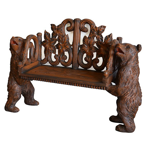 AFD Home Decorative Two Bears On Bench 11239543