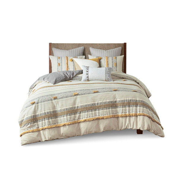 Cody 3 Piece Cotton Duvet Cover Set King/Cal King By Ink+Ivy II12-1119