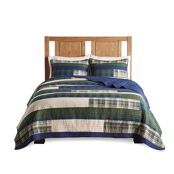 Spruce Hill Oversized Cotton Quilt Mini Set Full/Queen By Woolrich WR13-3042