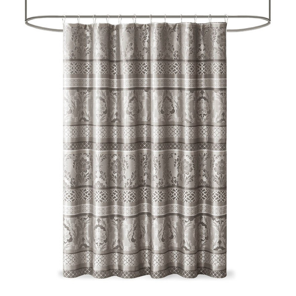 Bellagio Jacquard Shower Curtain By Madison Park MP70-7404