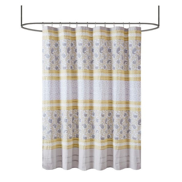 Dawn Cotton Shower Curtain By Madison Park MP70-7288