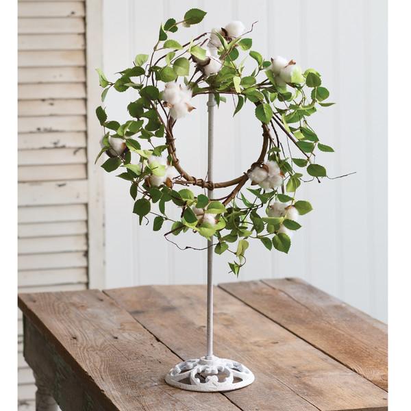 CTW Home Extendable Farmhouse Wreath Holder 370442
