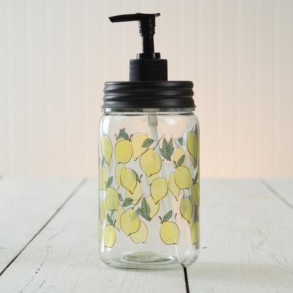 CTW Home Lemon Soap Dispenser 370452