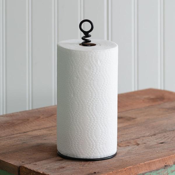 CTW Home Corkscrew Paper Towel Holder 370476