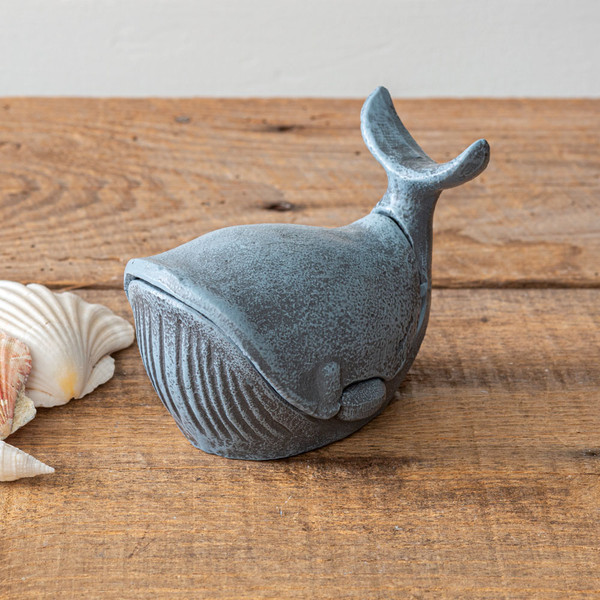 CTW Home Cast Iron Whale Trinket Holder 420189