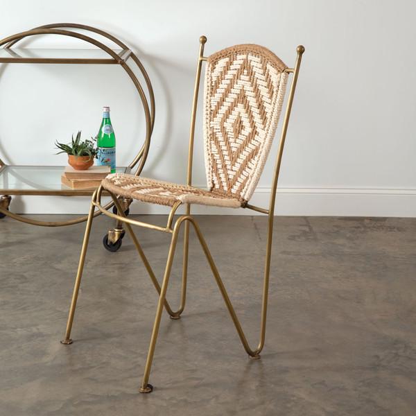 CTW Home Aurelia Macrame Chair 510364