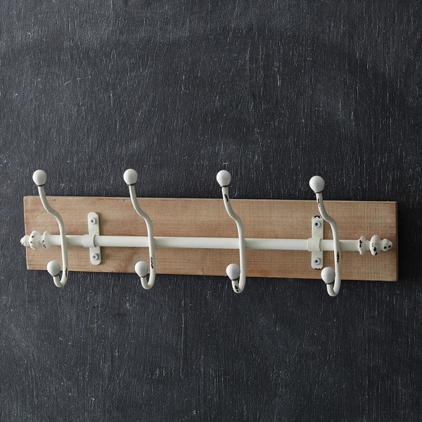 CTW Home Alma 4-Hook Wall Rack 530373