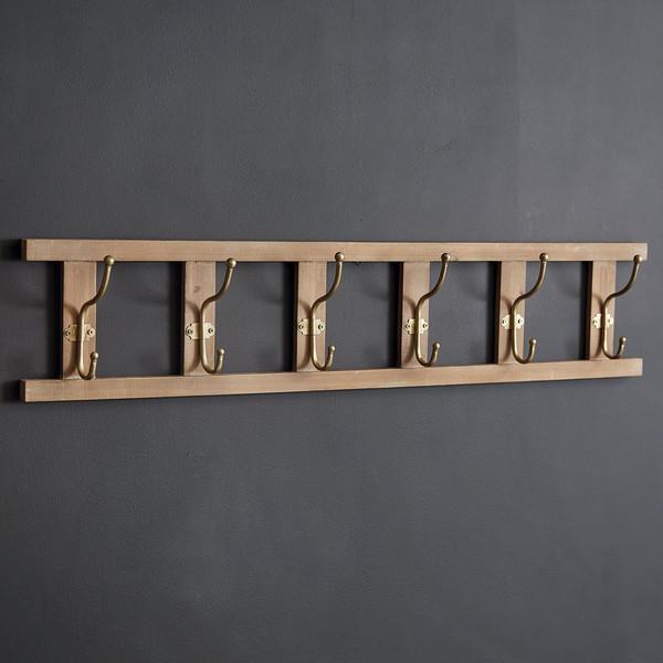 CTW Home Ladder Six Hook Wall Rack 530375