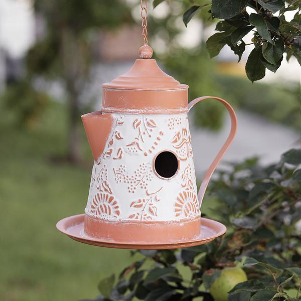 CTW Home La Paz Coffee Pot Birdhouse 770429