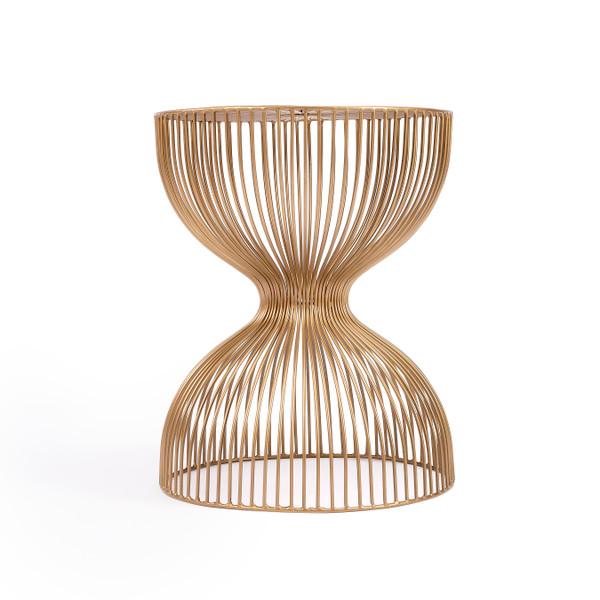 Butler Nicholas Gold Metal End Table 3318402