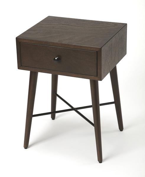 Butler Delridge Coffee & Black End Table 3791403