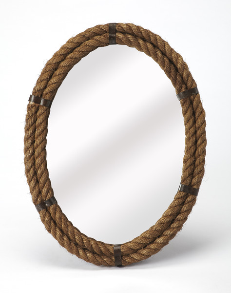 """Butler Darby Oval Rope Wall Mirror 3961120 """"Special"""""""