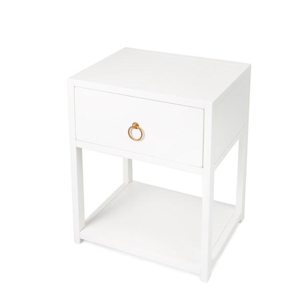 Butler Lark White End Table 5384304