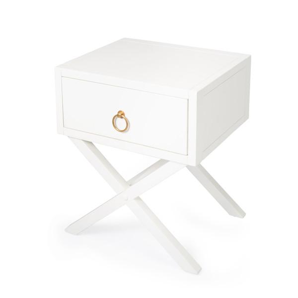 Butler Lark White End Table 5385304