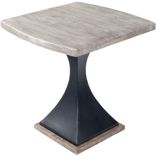Butler Lidiya Gray Wood & Metal End Table 5459025
