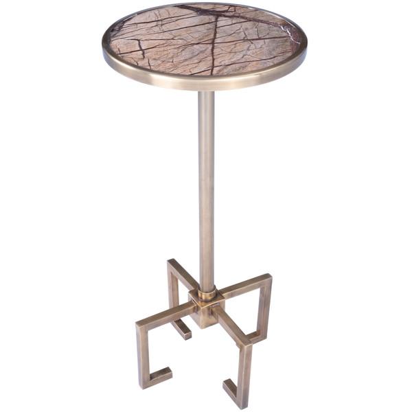 Butler Mash Metal & Marble End Table 5489226