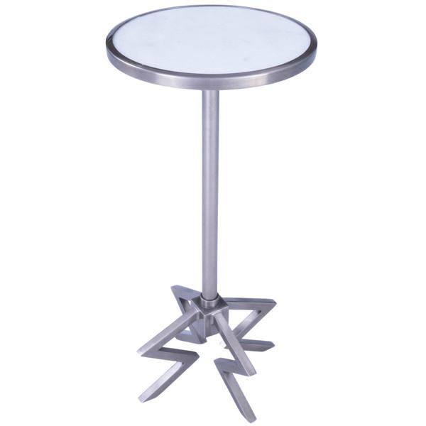 Butler Dash Metal & Marble End Table 5490220