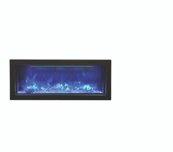 "BI-40-DEEP-OD 40"" Electric Deep Built-In Only Comes With Optional Black Steel Surround"