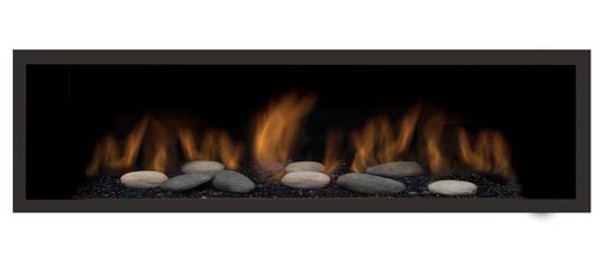 """AUSTIN-65G-NG-DELUXE 65"""" Natural Gas Direct Vent Linear"""